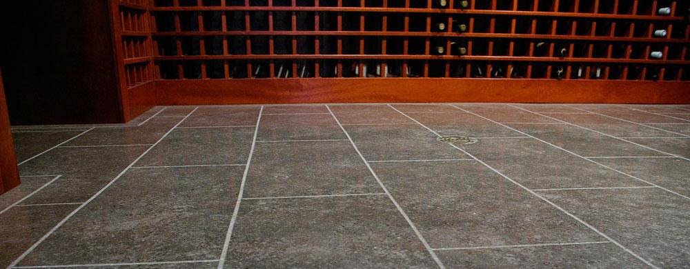 Gorgeous basement floor