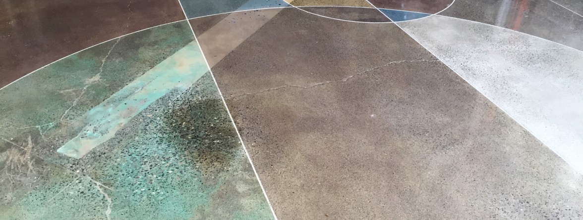 polished concrete samples