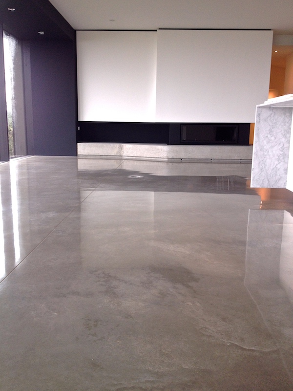 Heated Polished Concrete Floors