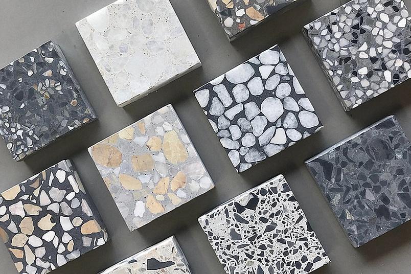 terrazzo aggregate | Victoria Stone Design Polished Concrete