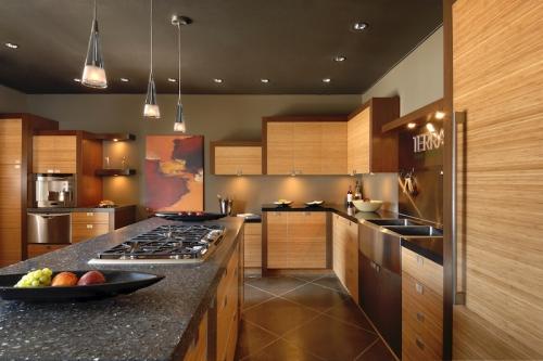 terrazzo for bamboo kitchen